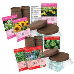 Growing Flowers and Plants Classroom Kits