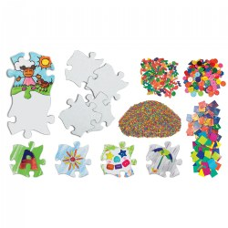 We Connect Puzzle Art - Creative Open Ended Art