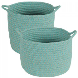 Outdoor Storage Baskets - Set of 2