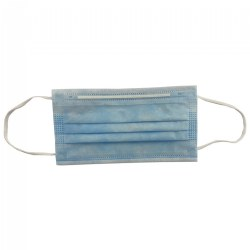 Adult Face Mask 3-Ply - Blue - Set of 50