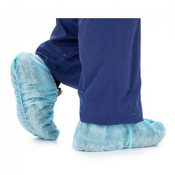 Blue Shoe Covers - Size XL - Set of 100