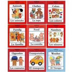 Bilingual Concept Books - Set of 9