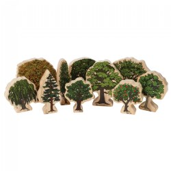 Trees of All Seasons Wooden Blocks