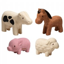 Eco-Friendly Farm® Animal Set