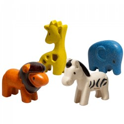 Eco-Friendly Wild Animal Set