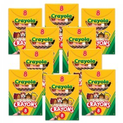 Crayola®Multicultural Crayons 8 Count - Standard - Set of 10