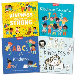 Toddler Kindness Book Set - Set of 4