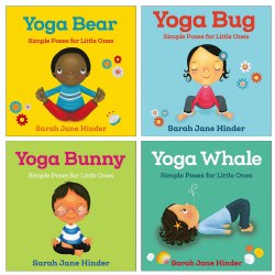 Toddler Yoga Board Books - Set of 4