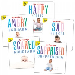 Social Emotional Feelings Board Books - Set of 5
