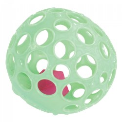 Light-Up Sensory Ball - Grab n' Glow Textured Ball with Holes