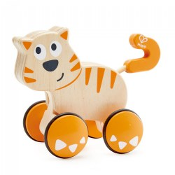 Wooden Toddler Wobble Kitten Push & Go