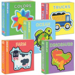 Soft Shapes Foam Book Set - Set of 5