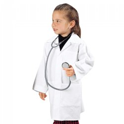 Child Size Doctor's Lab Coat - Fits Children Ages 3-6