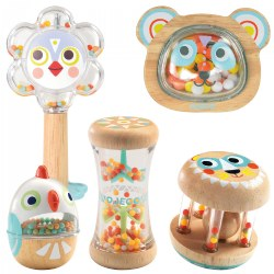 Soft Sounds Shaker Set - 5 Piece Set