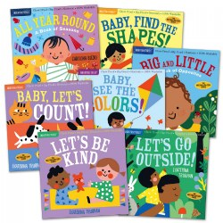 Indestructibles Books Early Learning Set - Set of 7
