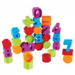 Counting and Number Building Blocks - Number and Color Recognition