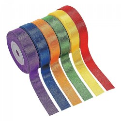 Satin Ribbon - 6 Rolls