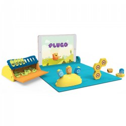 Plugo Interactive Children's STEM Wiz Pack with Math, Letters and Spelling