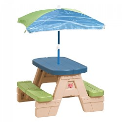 Sit 'N Play Picnic Table with Umbrella