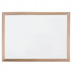 Wood Framed Magnetic Dry Erase Board
