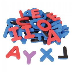 Magnetic Foam Uppercase Alphabet - Set of 40