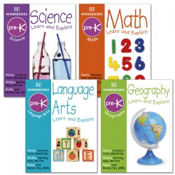 DK Preschool Developmental Skill Books