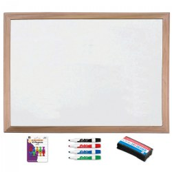 Magnetic Dry Erase Board With Accessories