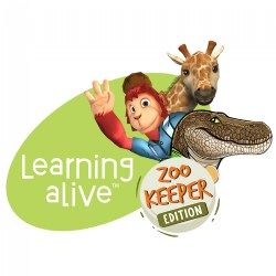 Upgrade from Early Letters alive® to Learning alive™ Zoo Keeper Edition