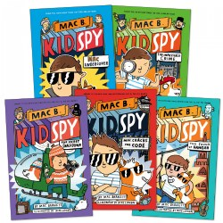 Mac B. Kid Spy Books