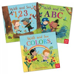 Walk and See Board Book Set - Set of 3