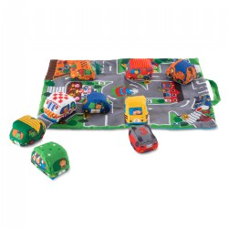 Take Along Town Play Mat with Vehicles