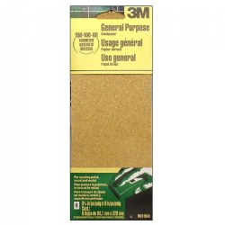 3M General Purpose Sandpaper - Assorted