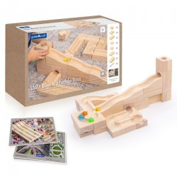 Unit Block Marble Run - 40 Piece Set