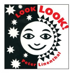 Look Look! - High-Contrast Black-and-White Board Book for Baby
