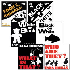 Black and White Books - Set of 6