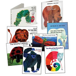 Eric Carle Board Book Set (Set of 8)