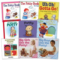 Potty Training Books - Set of 9