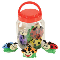 Toddler Crinkle and Texture Magnetic Ladybugs