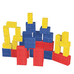 Basic Cardboard Blocks - Set of 40