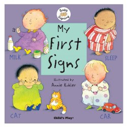 My First Signs - Lap Board Book