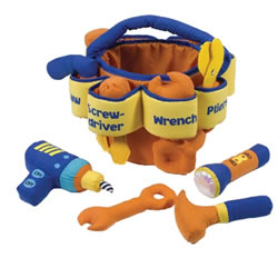 Toddler's Soft Tool Set