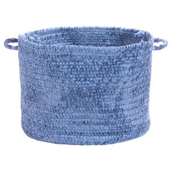 Spring Meadow Gathering Basket - Petal Blue