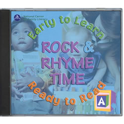 Early to Learn - Rock & Rhyme Time - Ready to Read CD