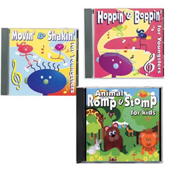 Toddlers On The Move CD's - Set of 3