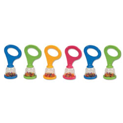 Baby Mini Maracas - Set of 6