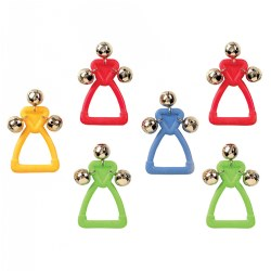 Handle Jingle Bells - Set of 6