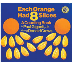 Each Orange Had 8 Slices - Big Book