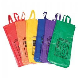 Potato Sack Jumping Bags - Set of 6