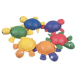 Turtle Bean Bag Set - Set of 6