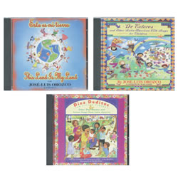 Jose-Luis Orozco CDs - Set of 3